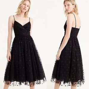 JCREW Plus Star Layered Tulle Midi Party Dress